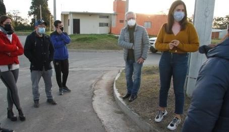 Vecinos del barrio El Portal de la Avenida reclamaron por la inseguridad
