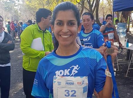 Silvana Hernández brilló en la 4° fecha del Pardo 10K Tour en San Pedro