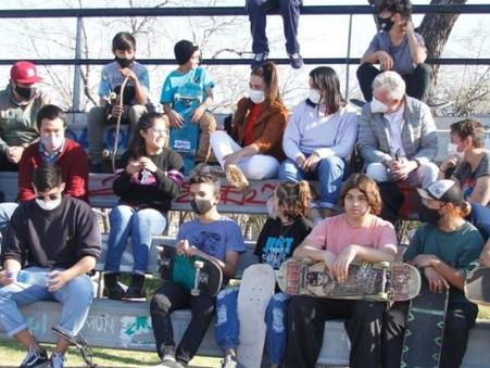 Rubén Romano acompaña a los jóvenes en un proyecto deportivo