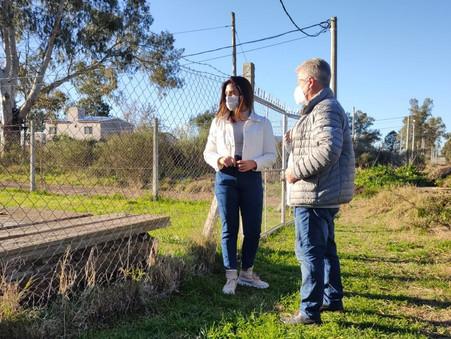 """Romano: """"Vamos a realizar obras estructurales, ante la ausencia constante del municipio"""""""