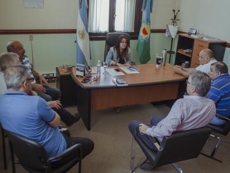 Concejales recibieron a la agrupación Bajo Bandera