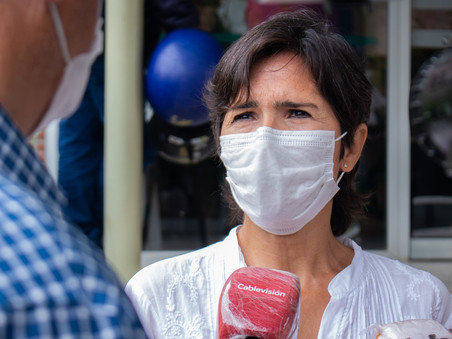 La secretaria de Salud pidió responsabilidad a los vecinos ante la segunda ola de contagios