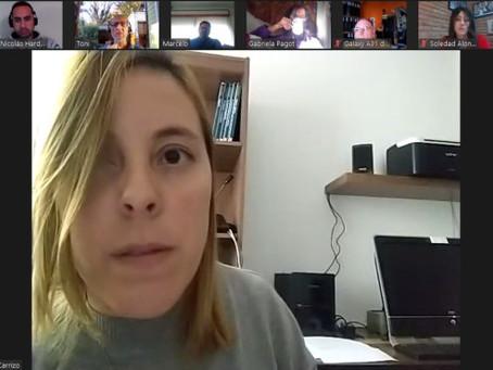 Romina Carrizo y Soledad Alonso se reunieron con vecinos de Cardales