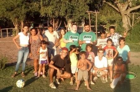 El PSOL Campana realizó actividades recreativas en merenderos de la ciudad
