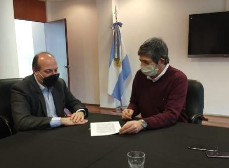 El Municipio firmó un convenio con la Universidad Nacional de San Martín
