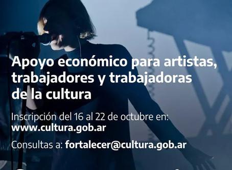 "El Municipio convoca a inscribirse al programa ""Fortalecer Cultura"""