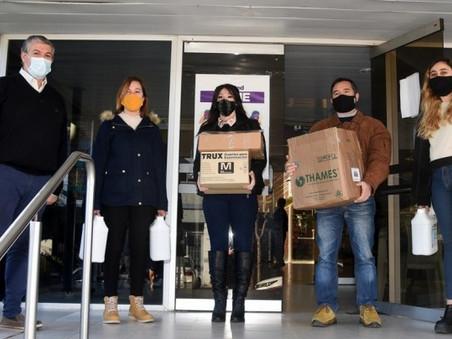 ''Creando Nexos'' donó insumos al hospital municipal