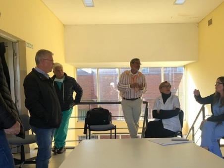 Autoridades de la Secretaría de Salud se reunieron con representantes de las clínicas locales