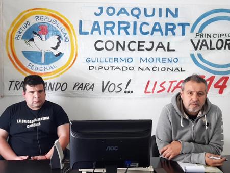 ''Estamos trabajando para que Guillermo Moreno sea el próximo presidente de los argentinos''