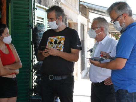Rubén Romano lleva el operativo Vacunate! a toda la ciudad