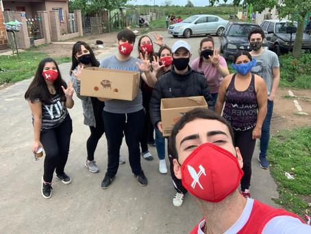 La Juventud Radical de Campana sigue caminando en los barrios