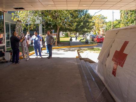 Comenzó a funcionar el nuevo triage del hospital San José