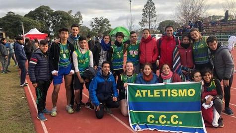 Atletismo: gran actuación del Club Ciudad de Campana en la Copa Nacional de Clubes Sub-16