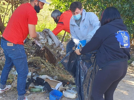 """Alejo Sarna: """"Hagamos una ciudad limpia y comprometida con el medio ambiente"""""""
