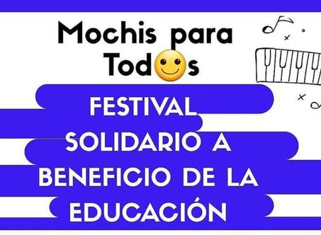"""Se realizará un festival solidario a beneficio del programa """"Mochis para todos"""""""