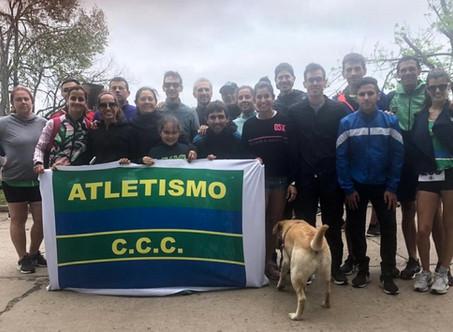 1-2-3 de mujeres del Club Ciudad en los 10K del Capilla Racing Club
