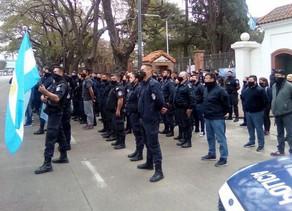 El Frente Grande de Campana repudió la actitud policial durante la protesta