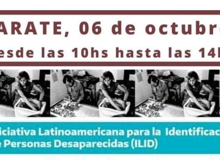 """La """"Iniciativa Latinoamericana para la Identificación de Personas Desaparecidas"""" llega a Zárate"""