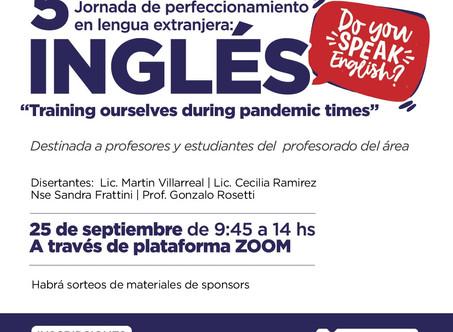 El Municipio invita a una nueva jornada virtual de perfeccionamiento en inglés