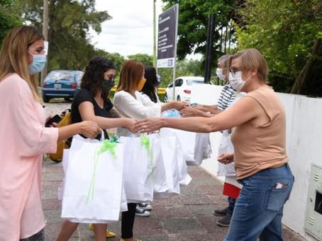 ''Creando Nexos'' y agrupaciones peronistas donaron juguetes por el Día de Reyes