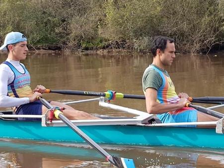 Remo: Con Joel Romero, el Boat Club compite mañana en La Plata