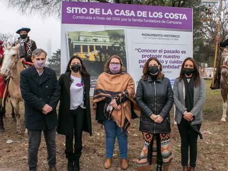 Concejales de Juntos por el Cambio participaron del acto por el Aniversario de Campana