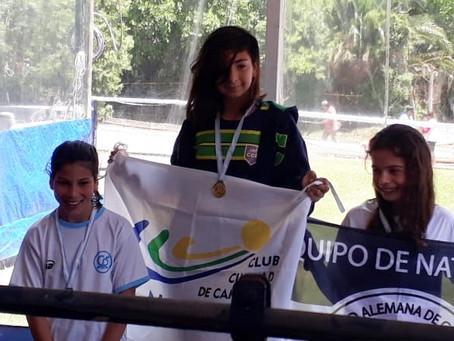 """Natación: Los federados del Club Ciudad compitieron en el """"Torneo Primavera"""" en el Club San Fernando"""