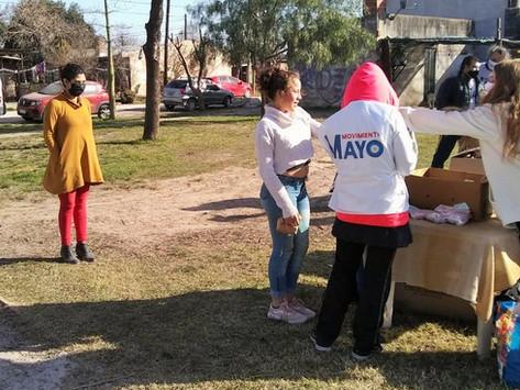 """Movimiento Mayo realizó un evento por el """"Día de las infancias"""""""