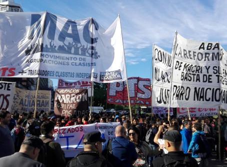 Paro del 29M: que siga con un plan de lucha o el FMI nos hunde (por Brenda Reymundo)