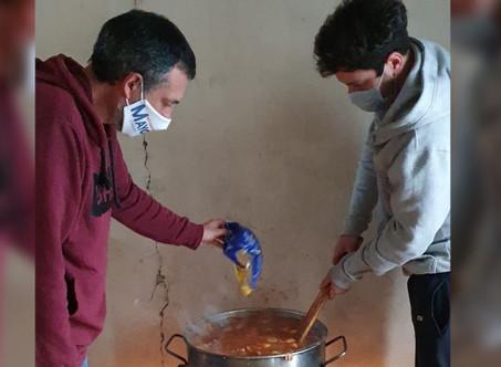 Alejo Sarna destacó la solidaridad de los Campanenses durante la pandemia