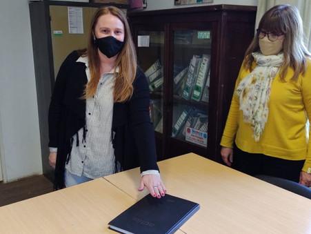 Marisa Leiss asumió como Consejera Escolar