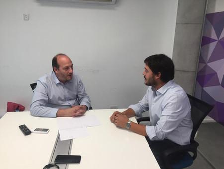 San Isidro y Campana avanzan en acciones de cooperación para el desarrollo