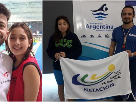 Grandes actuaciones de Agostina Hein y Emma Migueles en el Torneo Nacional ''Harold Barrios''