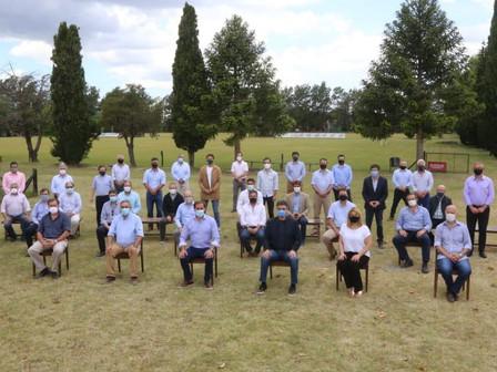 Abella participó de una cumbre de intendentes de Juntos por el Cambio