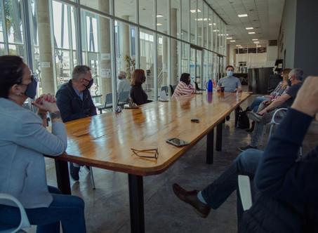 El Intendente se reunió con concejales de Juntos por el Cambio