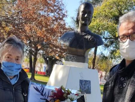 El peronismo homenajeó a Evita a 69 años de su fallecimiento