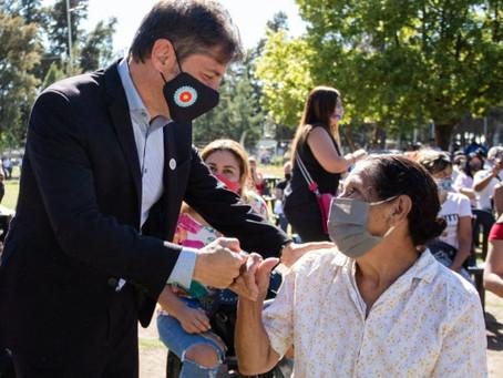 """""""La Provincia brindó 150 mil nuevos turnos para vacunar a mayores de 70 años en los próximos días"""""""
