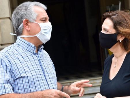 """""""La única realidad es que la Provincia aún no mandó las vacunas a Campana"""""""