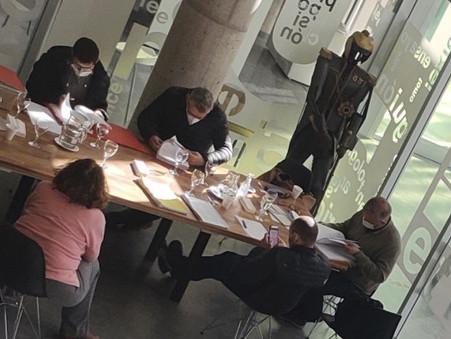 Concejales se reunieron con funcionarios municipales por la Rendición de Cuentas 2020