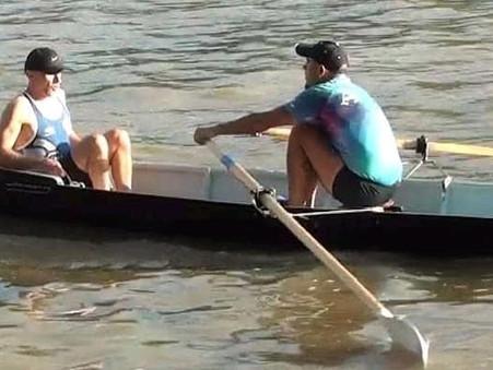 REMO DE TRAVESÍA: Gran performance y podio para el ''Chino'' Canteros en la regata del Club América
