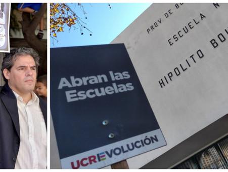 """Pedro Torres: """"Abren las escuelas, pero nadie se hace cargo del daño hecho a niños y adolescentes"""""""