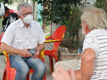 PAMI comienza a vacunar en geriátricos
