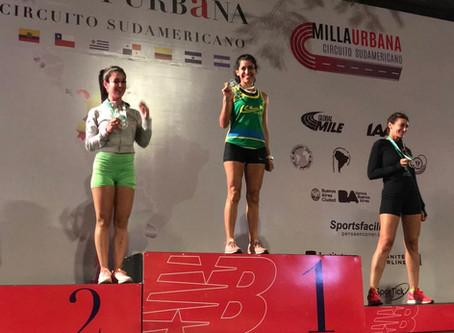 Running: Silvana Hernández, primera en la Milla Urbana de New Balance