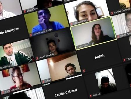Vecinos participaron del segundo encuentro virtual de los talleres de búsqueda de empleo