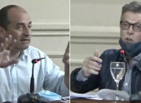 Marco Colella y Axel Cantlon denunciaron la apertura ilegal de gimnasios en Campana