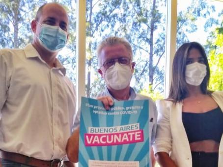 """""""Hoy comenzamos el proceso de inmunización de los campanenses"""""""