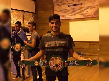 Alejo Manderioli se consagró  Campeón en el Sudamericano
