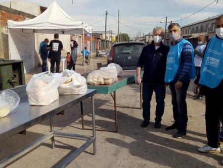 ''Ciudad Futura de la Comunidad Organizada'' acompañó la operación humanitaria Gral. Manuel Belgrano