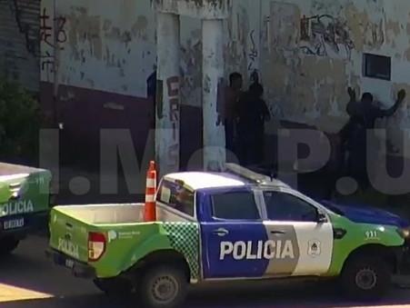 Las cámaras del CIMoPU permitieron detener a dos delincuentes in fraganti