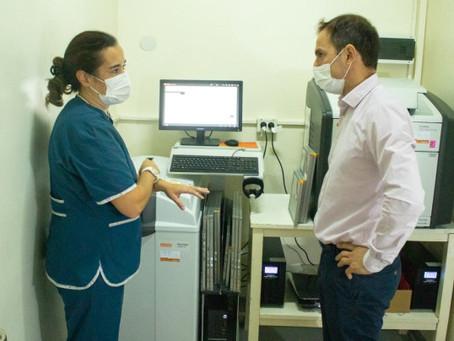 Retoman la entrega de turnos para mamografías en el hospital